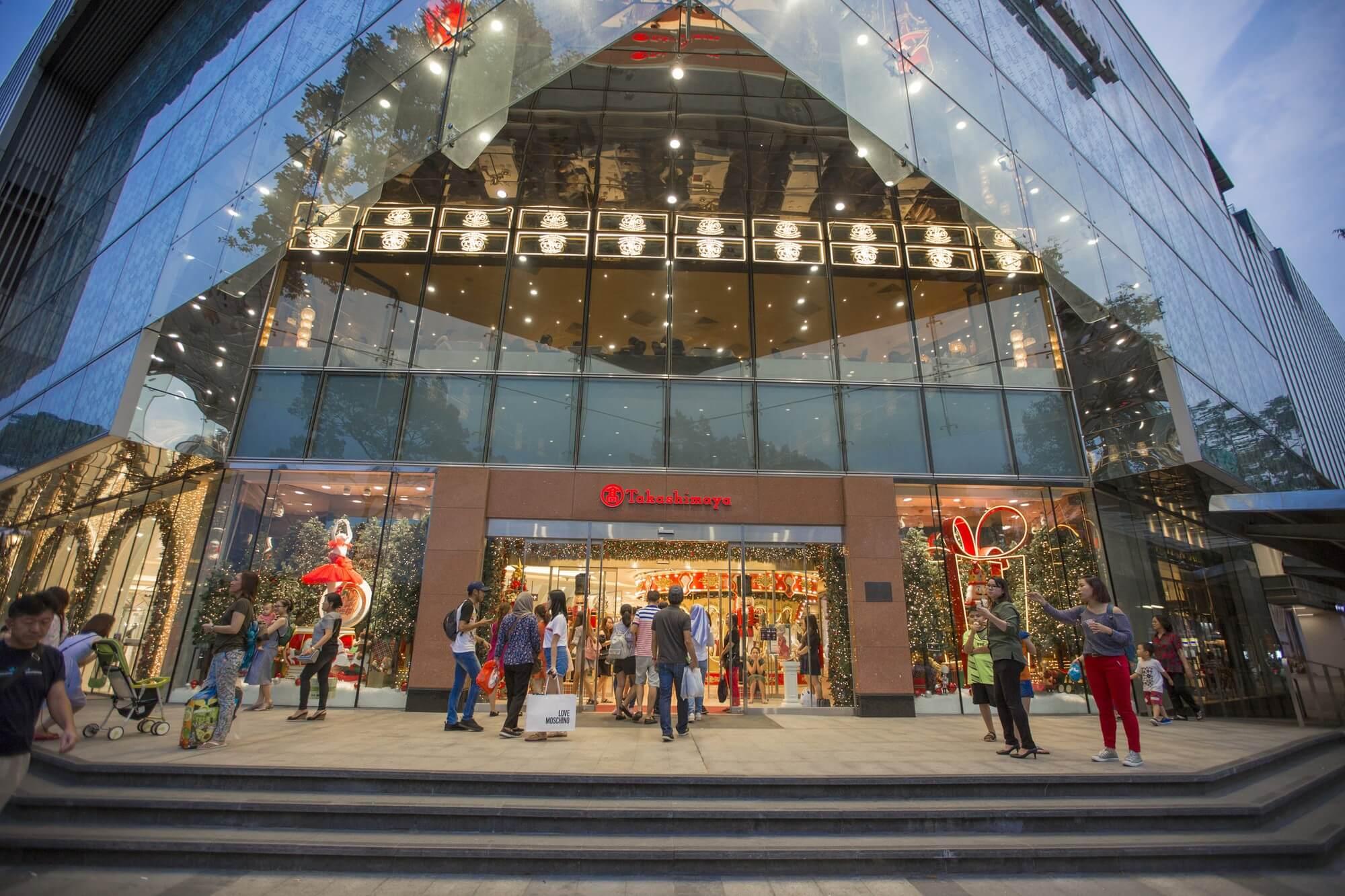Trung tâm thương mại Takashimaya quận 1