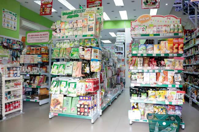 siêu thị Nhật Bản quận 1 Hachi Hachi Japan Shop