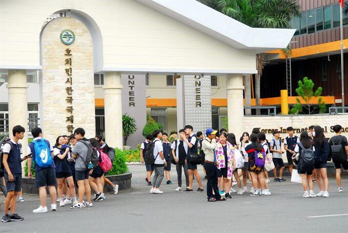 Trường Quốc Tế Hàn Quốc tại Quận 7